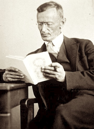 Hermann Hesse 1927 Photo Gret Widmann.